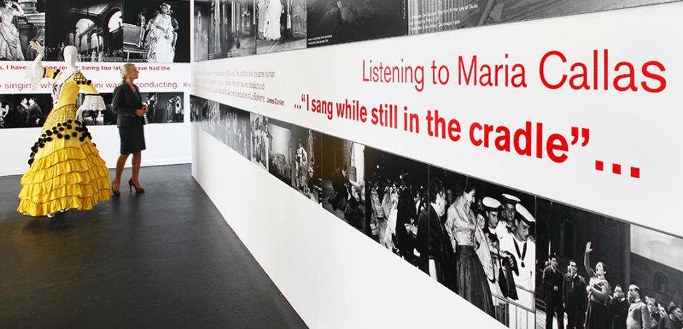 Maria Callas Exhibit, Los Angeles, CA