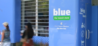 blue: the transit store